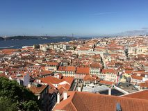 Lisbona di trascuratezza Fotografia Stock Libera da Diritti