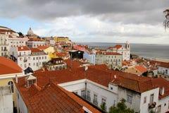 Lisbona, la città capitala e più grande del Portogallo Fotografia Stock Libera da Diritti