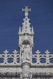 Lisbona - monastero di Jeronimos del dettaglio Immagine Stock
