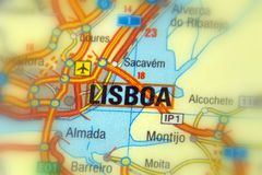 Lisbona o Lisbona, Portogallo - Europa Immagine Stock Libera da Diritti