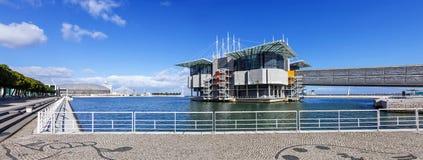 Lisbona Oceanarium Immagini Stock
