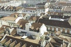 Lisbona panoramica Fotografie Stock Libere da Diritti