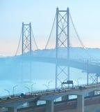 Lisbona ponte del 25 aprile, Portogallo Fotografia Stock