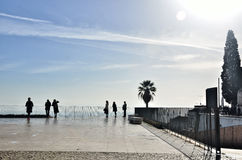Lisbona, Portogallo, destinazione turistica Immagine Stock Libera da Diritti