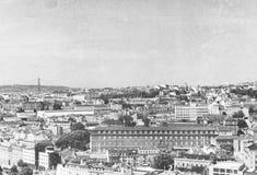 Lisbona, Portogallo Retro foto di stile Fotografia Stock