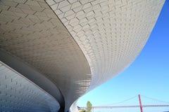 Lisbona, sospensione 25 del punto di riferimento del ponte di aprile Immagini Stock