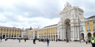 Lisbonne, место du коммерция стоковая фотография rf