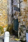 Lisbonne, bâtiments abandonnés/négligés Photographie stock