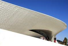 Lisbonne - musée de MAAT Photographie stock