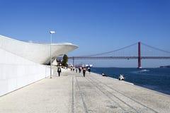 Lisbonne - musée de MAAT Photographie stock libre de droits