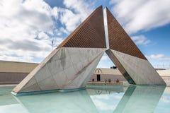 LISBONNE - 3 NOVEMBRE 2018 : Le monument d'outre-mer de combattants à B photo stock