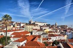 Lisbonne, Portugal, destination touristique Images libres de droits