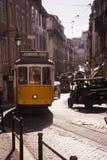 LISBONNE, PORTUGAL Gloria Funicular image stock
