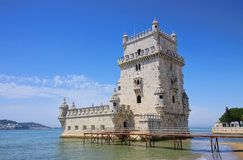Lisbonne Torre de Belem Photos libres de droits