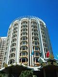 Lisbou旅馆在澳门,中国 免版税库存图片