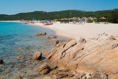 Liscia Ruja beach Royalty Free Stock Image