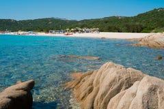 Liscia Ruja beach Royalty Free Stock Images