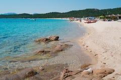 Liscia Ruja beach Royalty Free Stock Photography