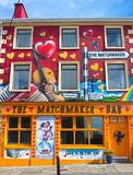 Lisdoonvarna, Irlande - 12 septembre 2017 : Festival 2017 d'arrangement de Lisdoonvarna Photographie stock libre de droits