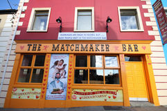 Lisdoonvarna Matchmaker Bar. Traditional love festival place in Ireland Royalty Free Stock Photography