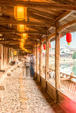 Lishui ancient street Royalty Free Stock Image