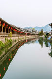 Lishui ancient street Royalty Free Stock Photos