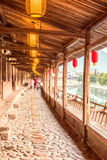 Lishui ancient street Stock Images