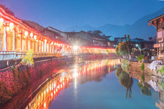 Lishui ancient street Stock Image