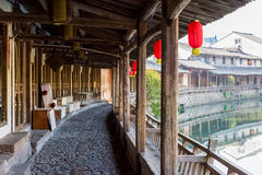 Lishui ancient street Royalty Free Stock Photography