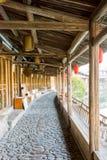 Lishui ancient street Stock Photos