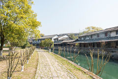 Lishui ancient street Royalty Free Stock Images