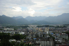Lishui City Royalty Free Stock Photos