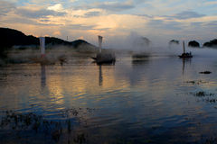 Lishui scenery. Asia China Zhejiang Lishui Scenery royalty free stock images