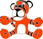 lisiątka stencil tygrysa zabawka Obrazy Royalty Free