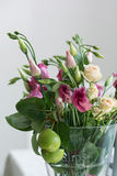 Lisianthus flowers bunch Royalty Free Stock Image