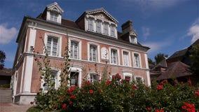 LISIEUX, FR - 20 AUGUSTUS 2018: Buissonnets, Frankrijk stock footage