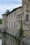 Lisignano Piacenza kasztel Fotografia Royalty Free