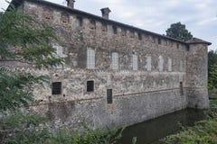 Lisignano Piacenza kasztel Zdjęcia Stock