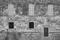Lisignano Piacenza kasztel Zdjęcie Royalty Free