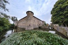 Lisignano Piacenza kasztel Obrazy Royalty Free