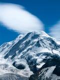 Liskamm en las montan@as de Suiza Foto de archivo libre de regalías