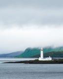 Lismore灯塔画象在苏格兰 库存照片