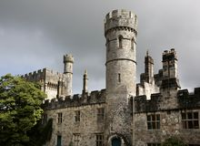 Lismore Castle, Co Waterford, Ireland. Lismore Castle, Co Waterford, Munster Province, Ireland. Originally built in 1185 by King John, Lismore Castle was owned Royalty Free Stock Images