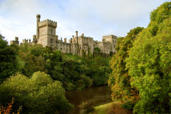 Lismore castle. In the co. Waterford. This Queen accomodation during her first visit to Ireland Royalty Free Stock Photo