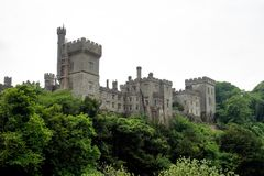 Lismore Castle in County Waterford, Ireland in Europe royalty free stock photography