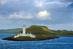 Lismore Lighthouse on Eilean Musdile Stock Photos