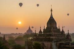 Liso de Bagan (pagão), Mandalay, Myanmar Foto de Stock