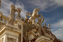 LIsola Bella Statues Stock Photo