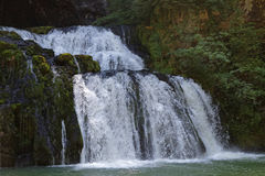 Lison river source waterfall Stock Photography