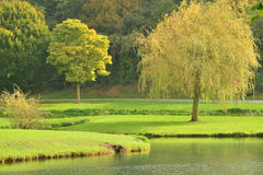 Lisors Frankrike - oktober 11 2015: den pittoreska byn Royaltyfria Foton